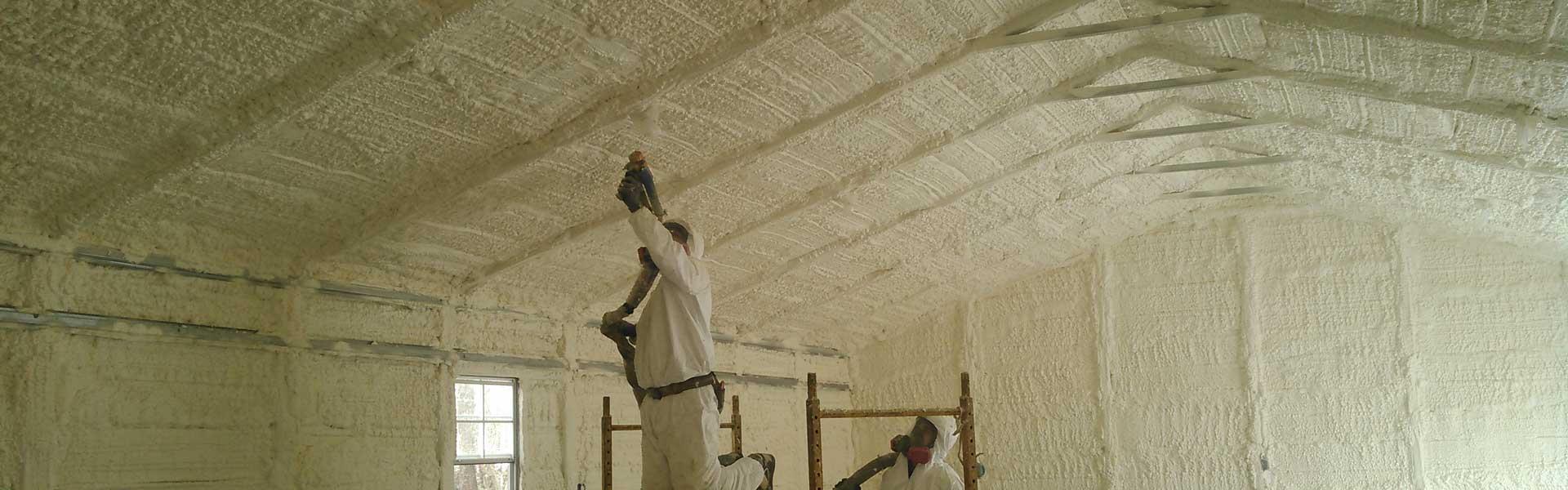 Spray Foam - Timco Insulation & Fireplaces
