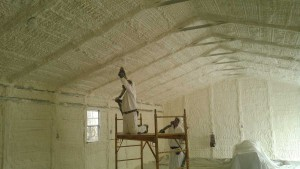 Spray Foam Bldg After - Timco Insulation & Fireplaces
