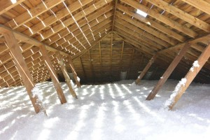 Blown-In Attic Insulation - Timco Insulation & Fireplaces