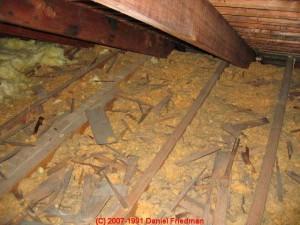 Damaged insulation - Timco Insulation & Fireplaces