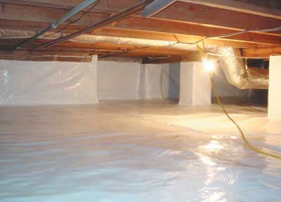 Encapsulation & Dehumidifer